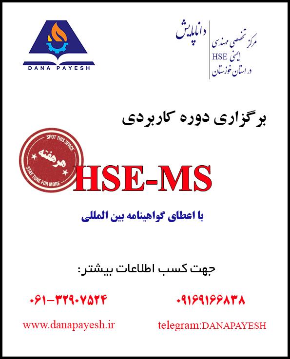 دوره HSE-MS داناپایش